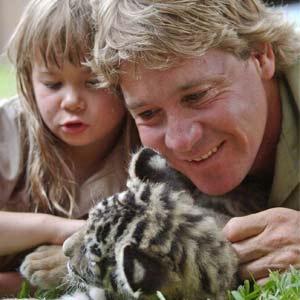 Steve Irwin, el 'Cazador de cocodrilos'