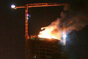 Incendio en Torre Espacio