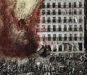 Incendio en la Plaza Mayor (1790)