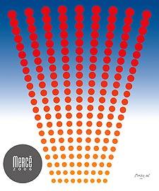 Cartel de las Festes de la Mercè 2006