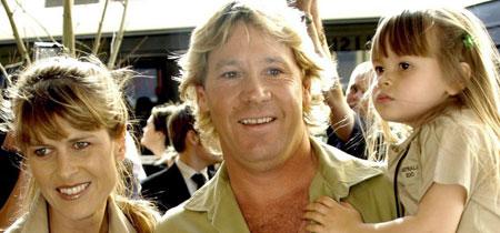"""El """"cazacocodrilos"""" Steve Irwin"""