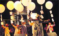 espectáculo w fiestas de alaquàs