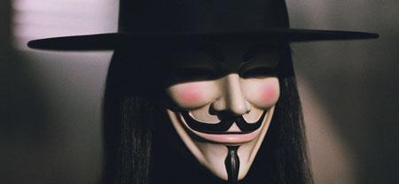 """V, de la película """"V de Vendetta"""""""
