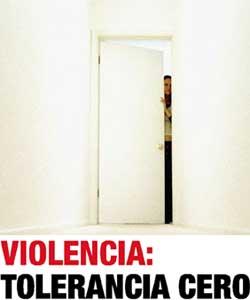 Cartel de la Exposición, 'Violencia: tolerancia cero'. (La Caixa)