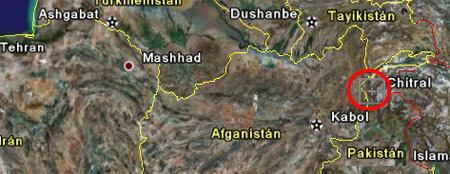 Chitral, región montañosa de Pakistán donde, se piensa, está escondido Osama bin Laden