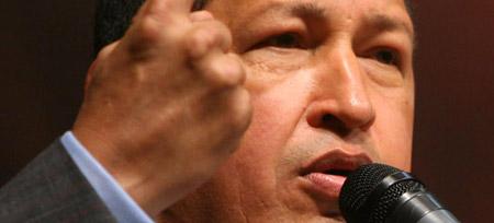 El presidente de Venezuela, Hugo Chávez