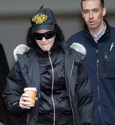 Madonna moscu - antes