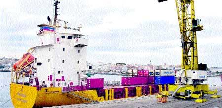 El buque Casablanca,