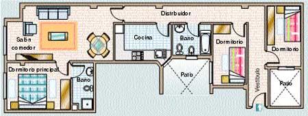 Piscina y solárium para 12 vecinos