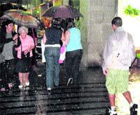 Las lluvias llegan con fuerza y dañan varias zonas de la provincia