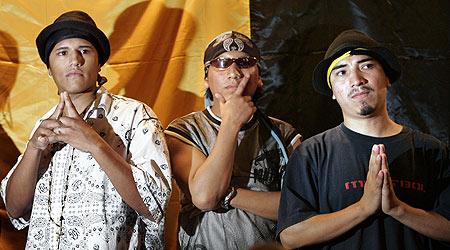 Tres miembros de los Latin Kings