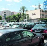 La vuelta al cole convierte Murcia en un gran atasco
