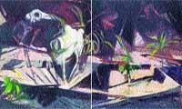 pinturas de un mundo grotesco