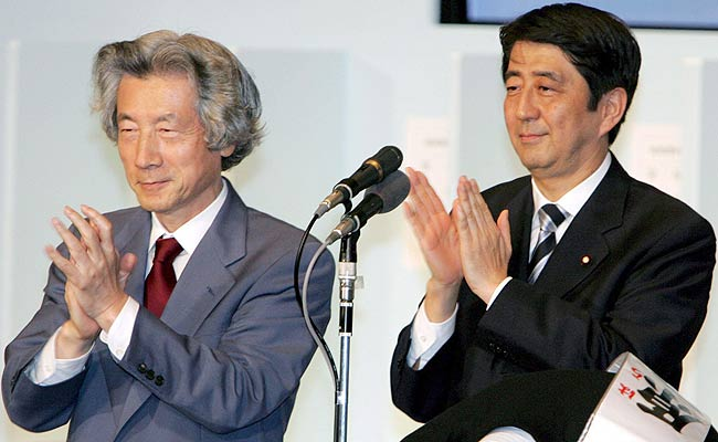 Koizumi y Abe