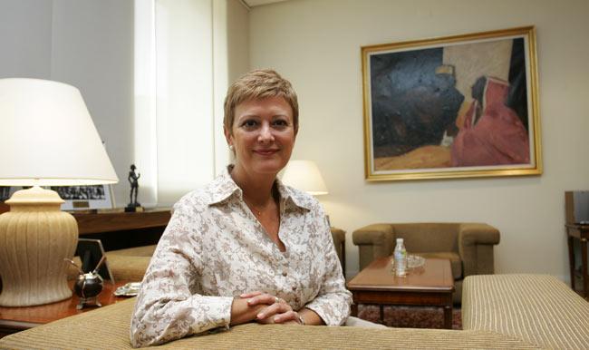 La secretaria de Estado de Inmigración, Consuelo Rumí