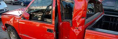 El coche de Darío Silva