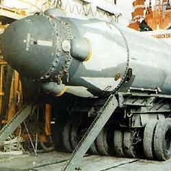 Misil RSM-54 Sineva, como los lanzados por Rusia. (CDI)