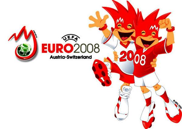 Mascotas Eurocopa 2008