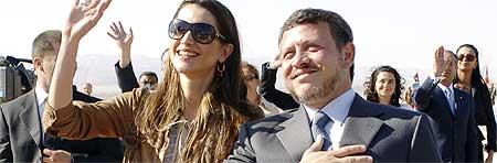 Rania y Abdal� de Jordania
