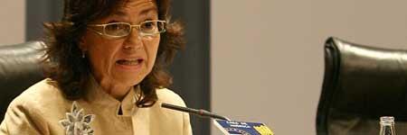 La ministra de Cultura, Carmen Calvo (EFE).