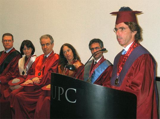 Discurso de Aznar en Lima