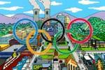 ¿Cómo se llama la mascota que diseñó Homer para las frustradas Olimpiadas de Springfield?