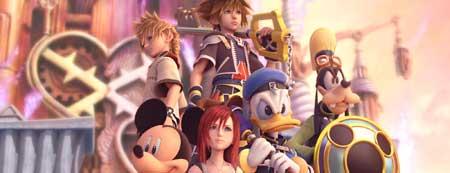 Protagonistas de Kingdom Hearts II