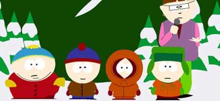 Los chicos de 'South Park'