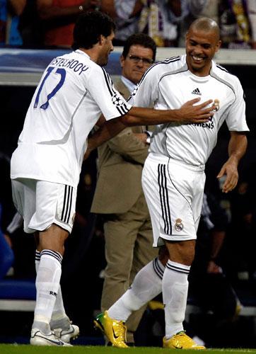Ronaldo y Van Nistelrooy