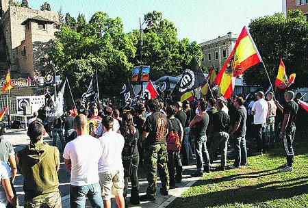 Un acto ultra en Málaga