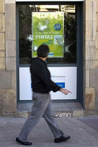 Incidentes de violencia callejera perpetrados en Vitoria