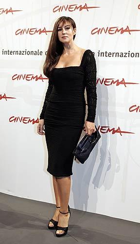 Monica Bellucci presenta 'N-Napoleon' en Roma