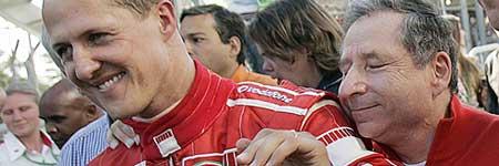 Schumacher y Todt