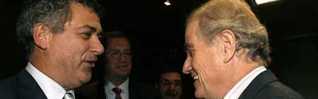 Villar y Calderón en el Senado