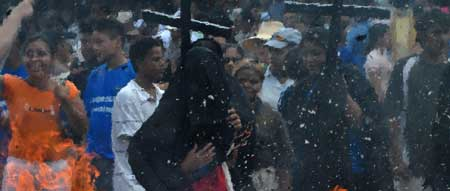 Protestas contra penalizaci�n del aborto terap�utica en Nicaragua