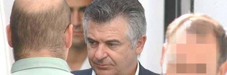 Juan Antonio Roca, trasladado por la Guardia Civil desde la prisión de Alhaurín de la Torre hasta los juzgados de Marbella.