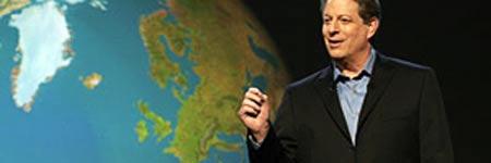 Al Gore en una imagen de su filme 'Una verdad molesta' (Archivo).