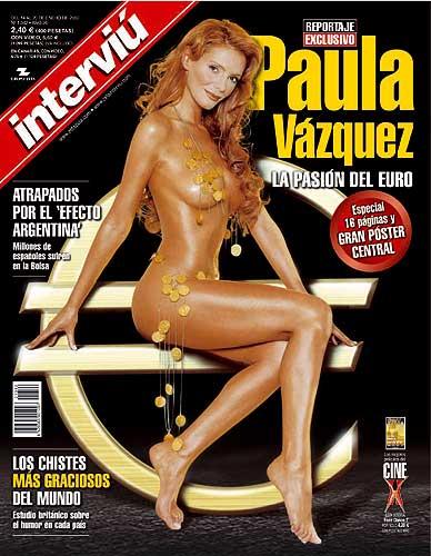 Interviu presentadoras - Paula Vazquez. Paula Vazquez pasó de lucir sus bikinis de