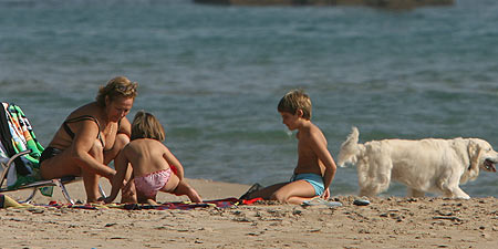 Día de playa en Torredembarra