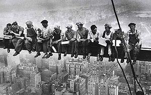 Tiempo de descanso en el Rockefeller Center