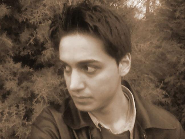 El bloguero iraní Kianoosh Sanjari