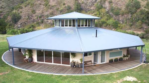 Casa solar giratoria