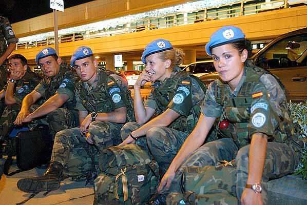 031106 Líbano soldados españoles