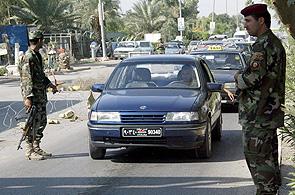 Máxima alerta en Irak