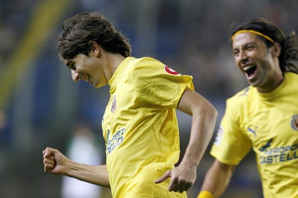 """El jugador del Villarreal, Rubén Gracia """"Cani"""""""