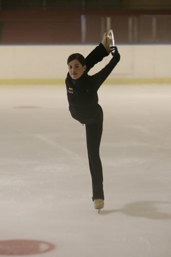 Sonia Lafuente, patinadora española