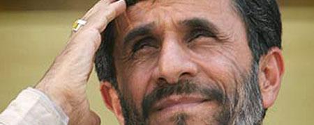 El presidente iran�, Mahmud Ahmadineyad