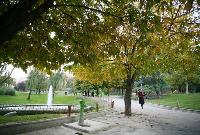 Primavera tardía en Madrid
