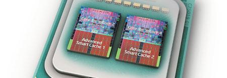 Este es el primer procesador de cuatro núcleos