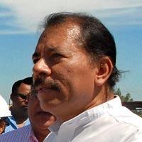 Ortega, este martes en Ciudad Sandino (Nicaragua)